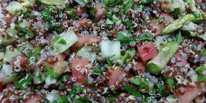 tabule con quinoa